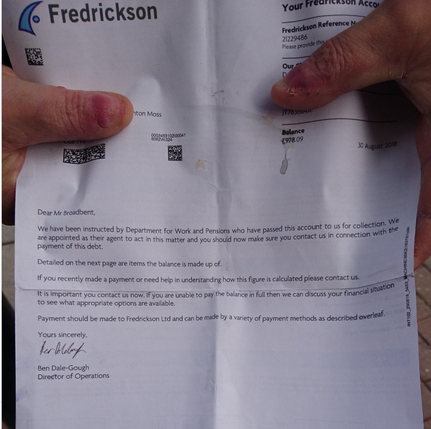 Fredrickson Debt Collection >> Debt Collection Agencies Contracted To Collect So Called